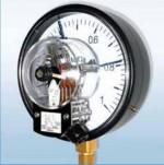 Манометри ДМ Сг 05-01 сигналізують з електроконтактною приставкою