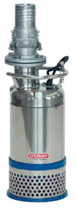 Speroni ASM - дренажні насоси з вертикальним патрубком (нержавіюча сталь)