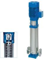 Speroni VS - універсальний поверхневий вертикальний багатоступінчастий насос із нержавіючої сталі з конструкцією патрубків «в лінію»