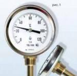 Термометри біметалеві ТБ (стандартне, спеціальне виконання)