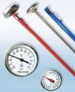 Термометри біметалеві голчасті ТБИ